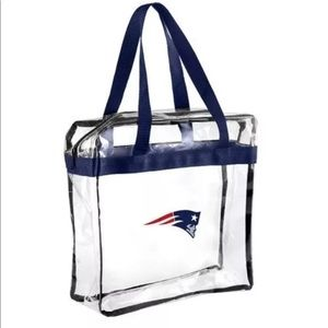 Handbags - Patriots Stadium Approved Clear Bag